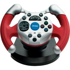 Foto Volante PS2 Dual Shock Racing 6211-1 - Maxprint