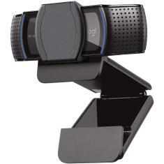 WebCam Logitech HD Pro Filma em Full HD C920S