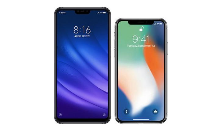 Xiaomi Mi 8 Lite vs iPhone X: qual celular com notch vale mais a pena?