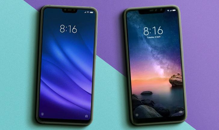 Xiaomi Mi 8 Lite vs Redmi Note 6 Pro: compare preço e ficha técnica