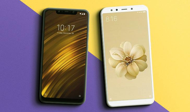 Xiaomi Mi A2 vs Pocophone F1: android puro ou custo/benefício?