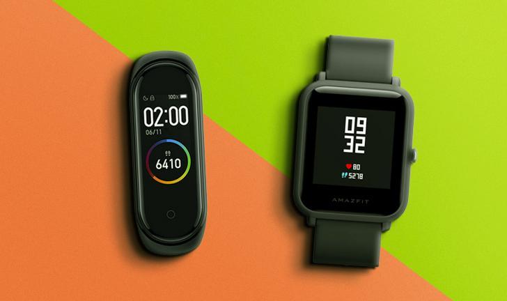 Xiaomi Mi Band 4 vs Amazfit Bip: compare preço e ficha técnica