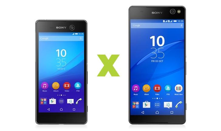 Xperia M5 ou Xperia C5 Ultra: qual celular bom para fotos da Sony comprar?