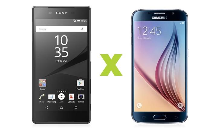 Xperia Z5 ou Galaxy S6? Descubra o melhor smartphone top de linha para você!