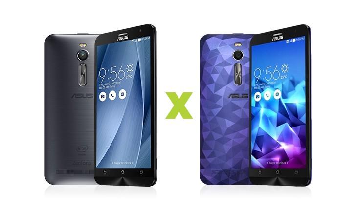 Zenfone 2 e Zenfone 2 Deluxe: quais as diferenças?