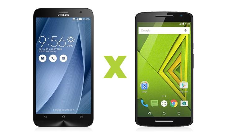 Zenfone 2 vs Moto X Play: veja qual deles vence esta briga