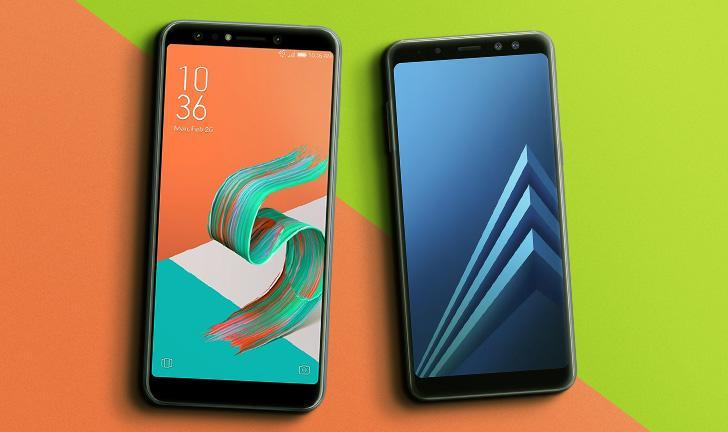 Zenfone 5 Selfie vs Galaxy A8: um duelo de intermediários