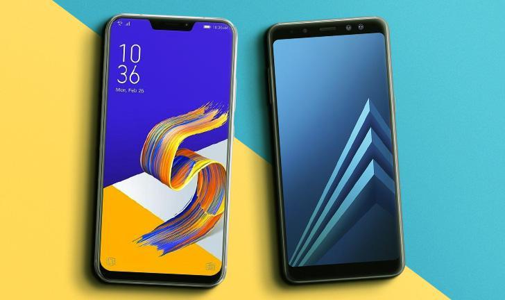 Zenfone 5 vs Galaxy A8: um comparativo de intermediários de peso
