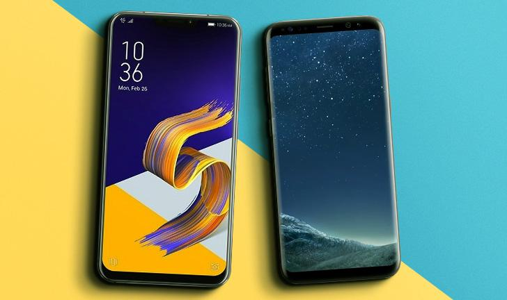 Zenfone 5 vs Galaxy S8: compare as fichas técnicas dos smartphones