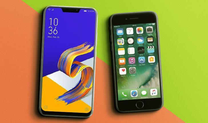 119a30bca Zenfone 5 vs iPhone 7  qual smartphone devo comprar