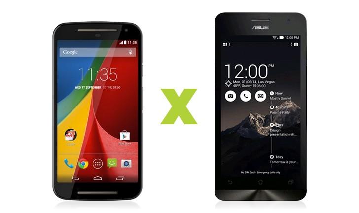 Zenfone 5 vs Moto G: qual é o melhor custo/benefício?
