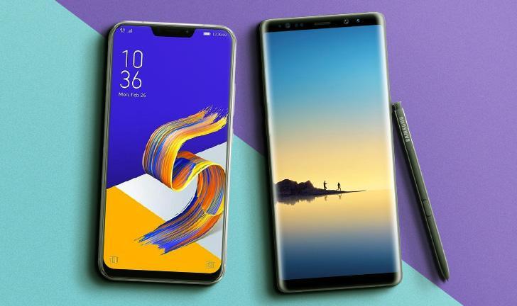 Zenfone 5Z vs Galaxy Note 8: qual celular comprar?