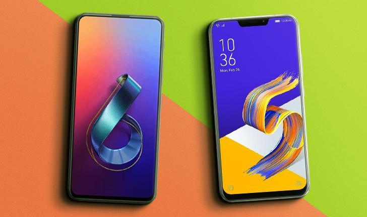 Zenfone 6 vs Zenfone 5Z: o que muda entre os celulares Asus?