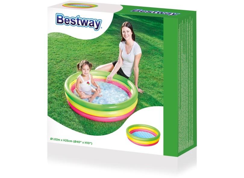 Piscina Inflável 110 l Redonda Bestway Summer Set 51104