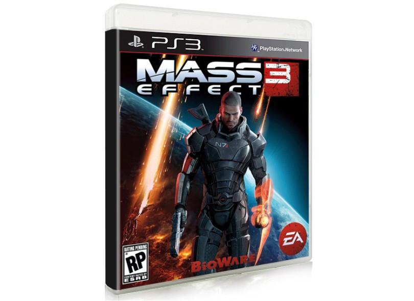 Jogo Mass Effect 3 EA PS3