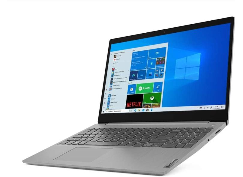 """Notebook Lenovo IdeaPad 3i Intel Core i3 10110U 10ª Geração 4.0 GB de RAM 256.0 GB 15.6 """" Windows 10 82BS0006BR"""