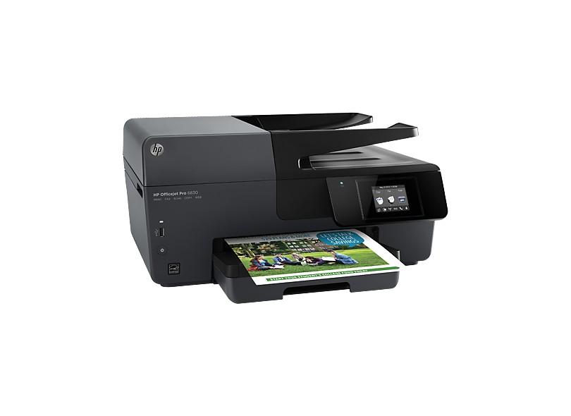 Multifuncional HP Officejet Pro 6830 Jato de Tinta Colorida Sem Fio