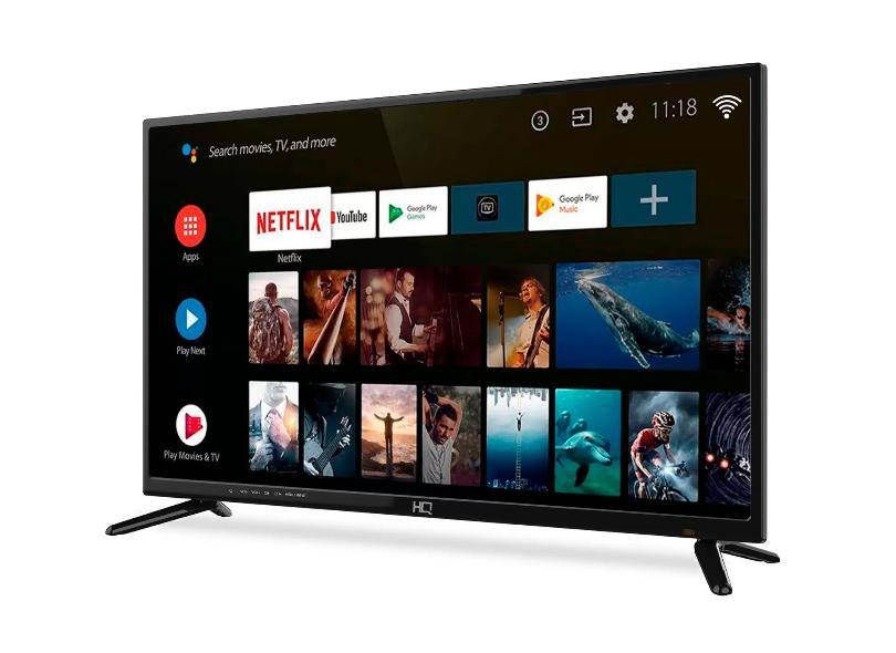 "Smart TV TV LED 39 "" HQ HDR HQSTV39NK 2 HDMI"