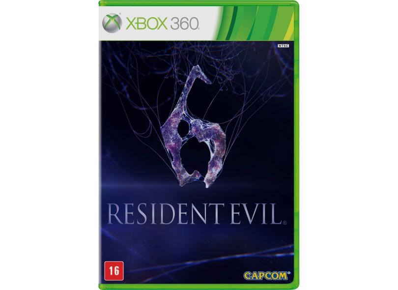 Jogo Resident Evil 6 Capcom Xbox 360