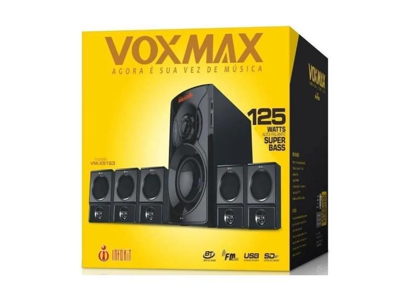 Home Theater Soundbar Infokit 125 W 5.1 Canais Vm-X5163