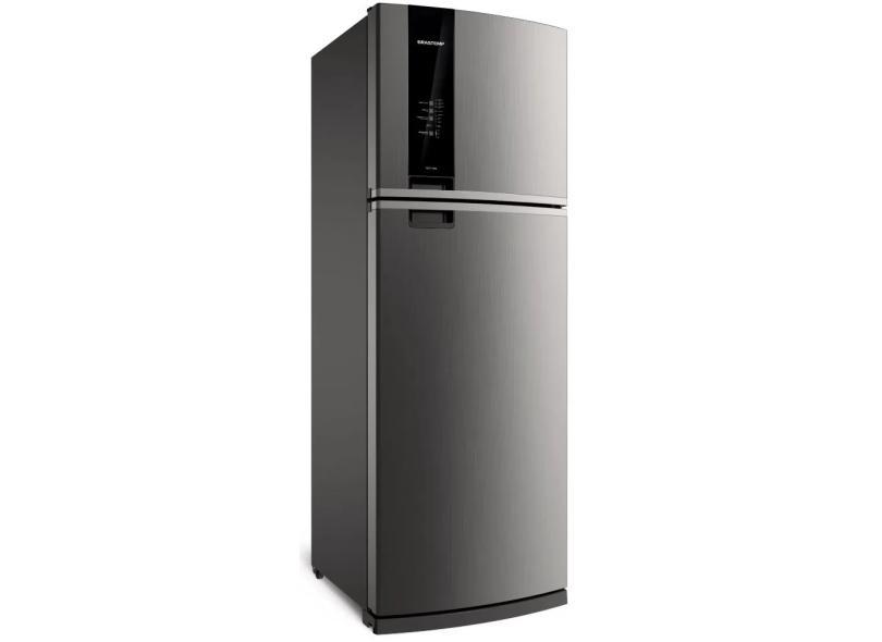 Geladeira Brastemp Frost Free Duplex 500 Litros Inox BRM57AK
