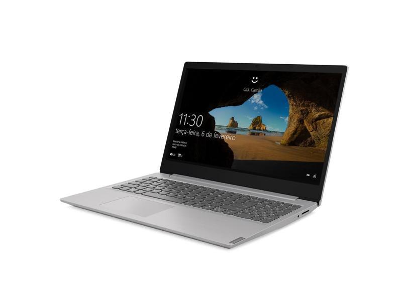 "Notebook Lenovo IdeaPad S145 Intel Core i7 8565U 8ª Geração 8.0 GB de RAM 256.0 GB 15.6 "" Full GeForce MX110 Windows 10 81S9000HBR"
