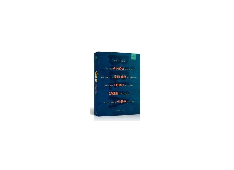 Bíblia NVI Brochura Azul João 3-16 - Vários Autores - 9788000004082