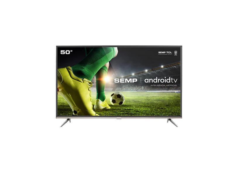 "Smart TV TV LED 50"" Semp 4K HDR 50SK8300 3 HDMI"