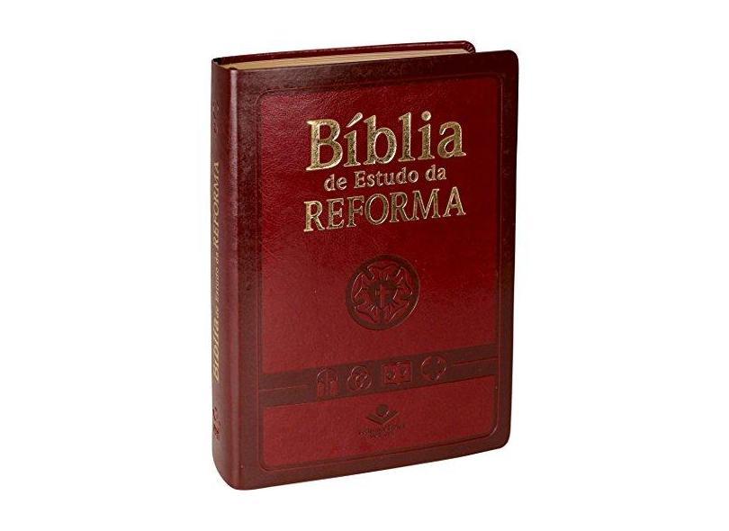 Biblia de Estudo da Reforma - Sbb - Sociedade Biblica Do Brasil - 7899938401941