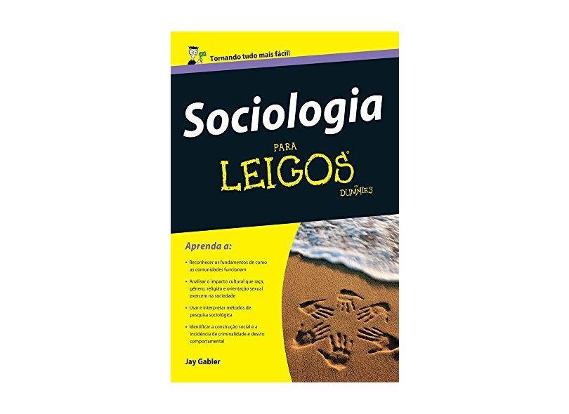 Sociologia Para Leigos - Capa Comum - 9788576088516
