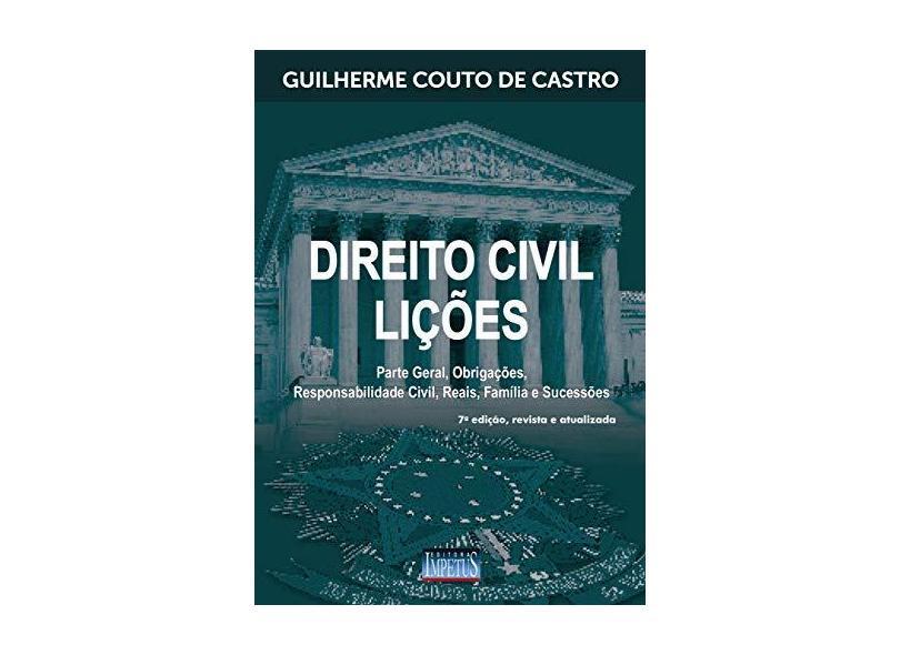 Direito Civil. Lições - Guilherme Couto - 9788576269908