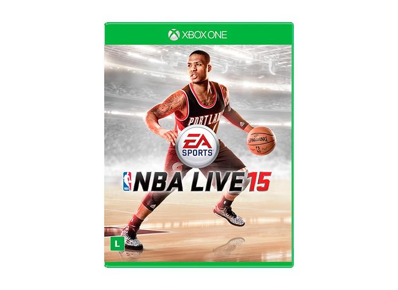Jogo NBA Live 15 Xbox One EA
