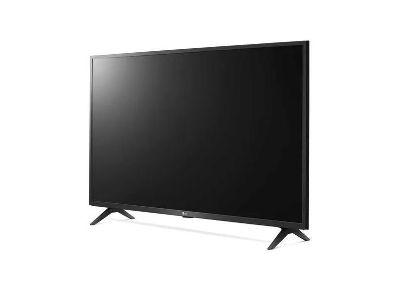 "Smart TV TV LED 43 "" LG ThinQ AI 4K HDR 43UN731C 3 HDMI"