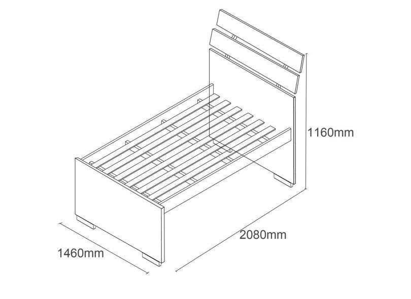 Cama Solteiro Premium Tcil
