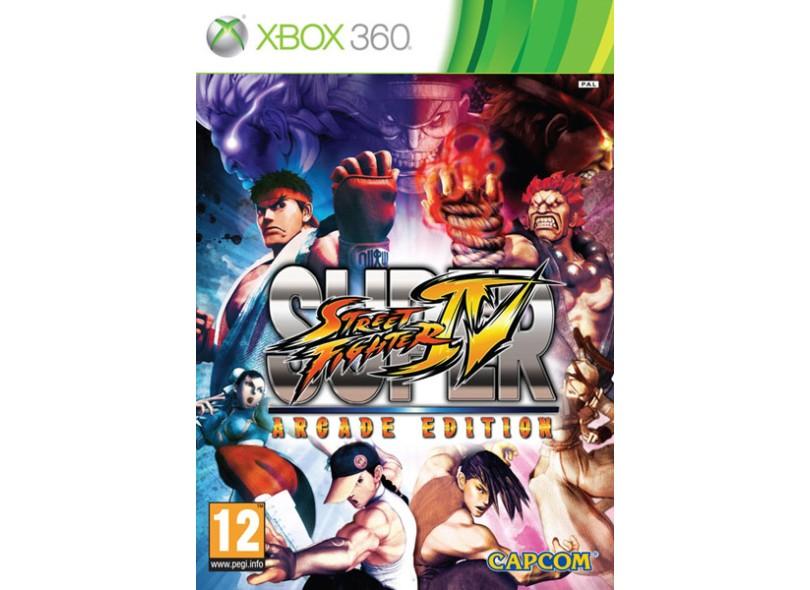 Jogo Super Street Fighter IV Arcade Edition Capcom Xbox 360