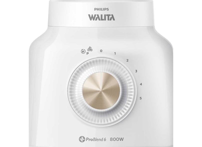 Liquidificador Philips Walita Viva Collection RI2136/01 ProBlend 6 2.0 l 5 Velocidades 800 W