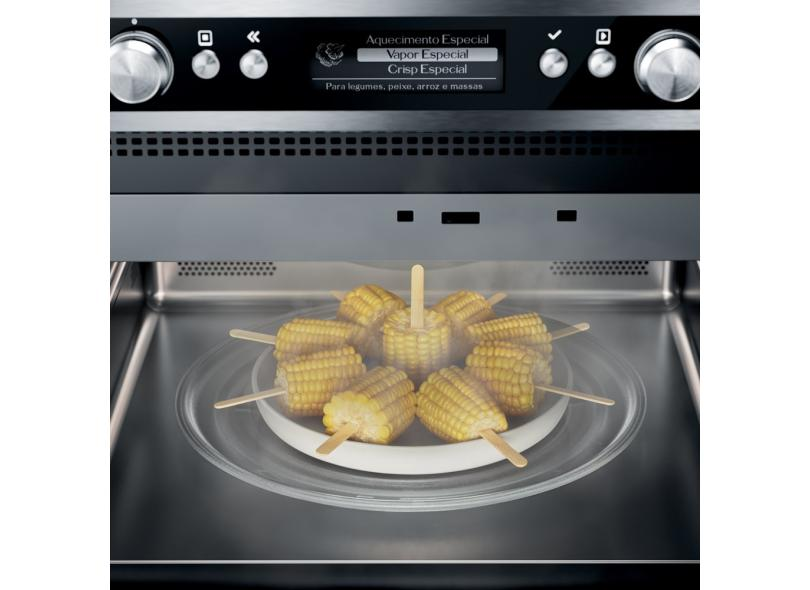Micro-ondas de Embutir Brastemp Gourmand 40 l BMO45AR Inox