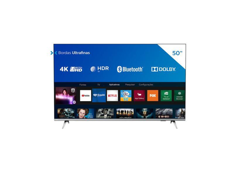 "Smart TV TV LED 50 "" Philips 4K Netflix 50PUG6654/78 3 HDMI"