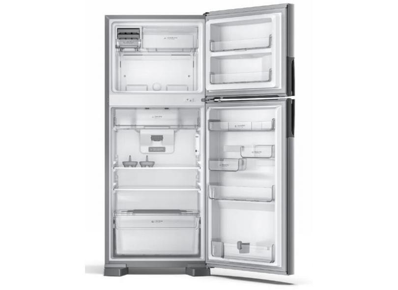 Geladeira Consul Frost Free Duplex 410 l Inox CRM50HK