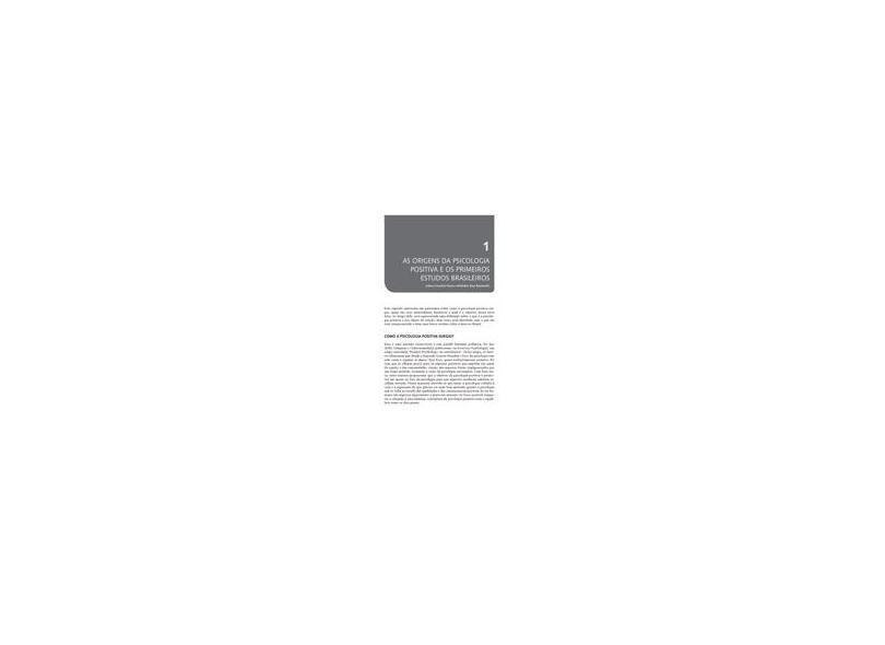 Avaliação em Psicologia Positiva - Claudio Simon Hutz - 9788582710869
