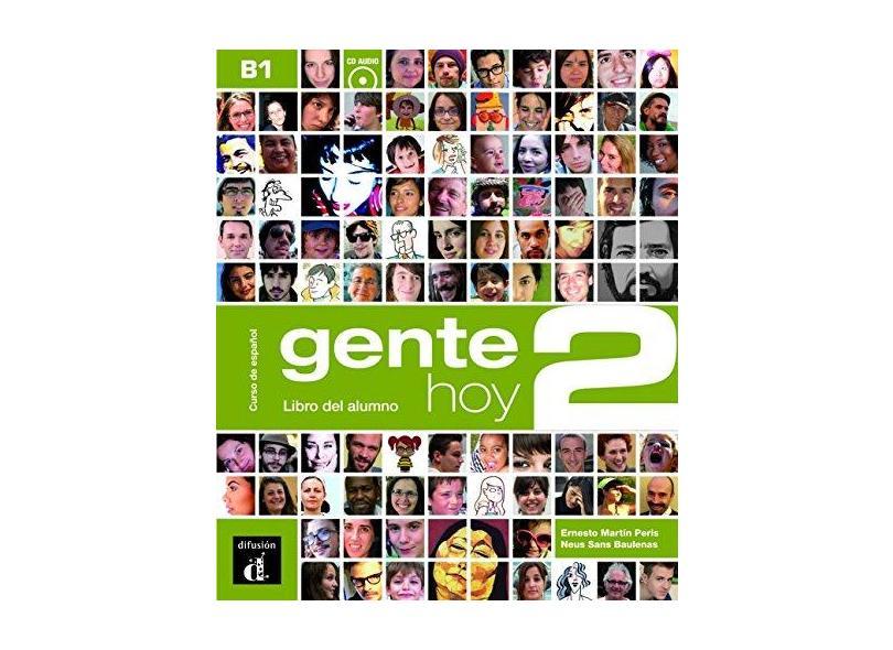 Gente Hoy - Libro del Alumno. Volumen 2 (+CD) - Vários Autores - 9788415640370