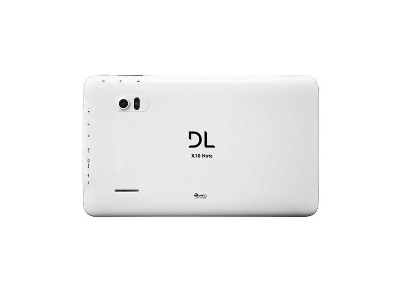 """Tablet DL Eletrônicos Note 4 GB LCD 10,1"""" Android 4.0 (Ice Cream Sandwich) 2 MP X10"""