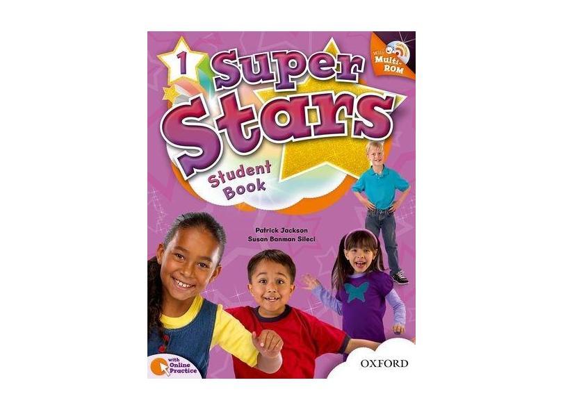 Super Stars 1 - Student´S Book With Multi-Rom - Pack - Editora Oxford - 9780194100663