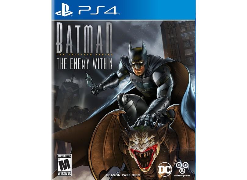 Jogo Batman The Enemy Within PS4 Telltale