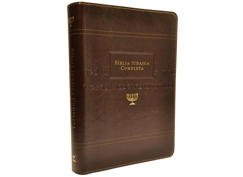 Bíblia Judaica Completa - Marrom - David H. Stern - 9788000003795