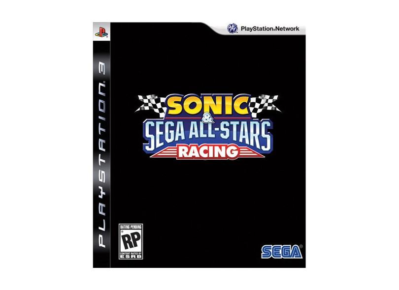 Jogo Sonic & Sega All-Stars Racing Sega PS3