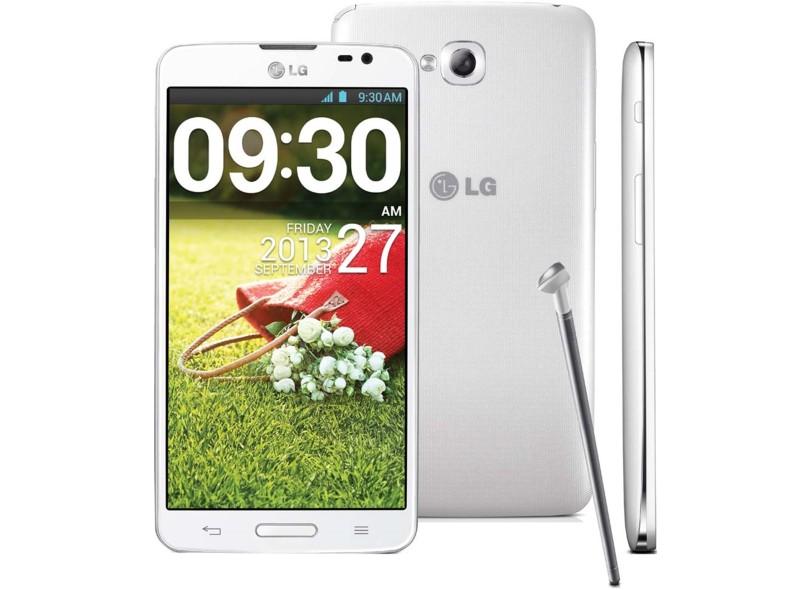 Smartphone LG G Pro Lite D680 Câmera 8,0 MP 8GB Android 4.1 (Jelly Bean) Wi-Fi 3G