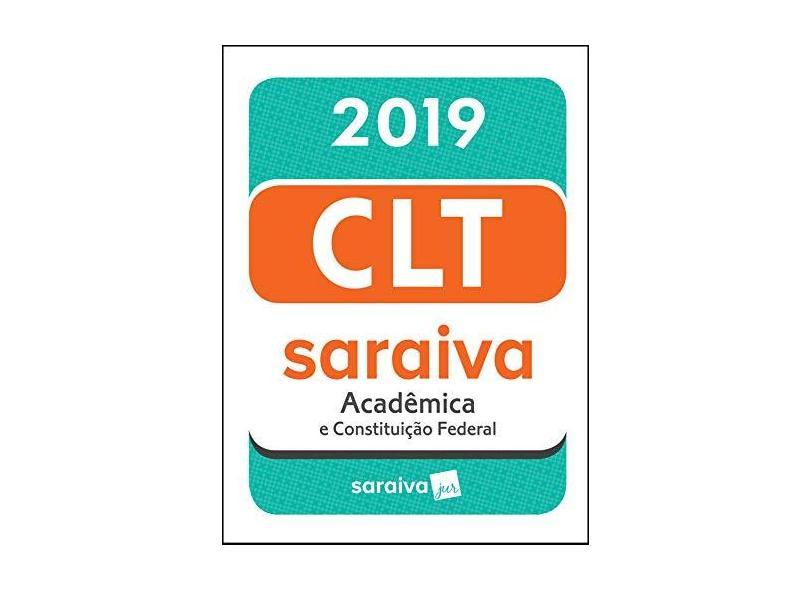 Clt Acadêmica - Editora Saraiva - 9788553603190