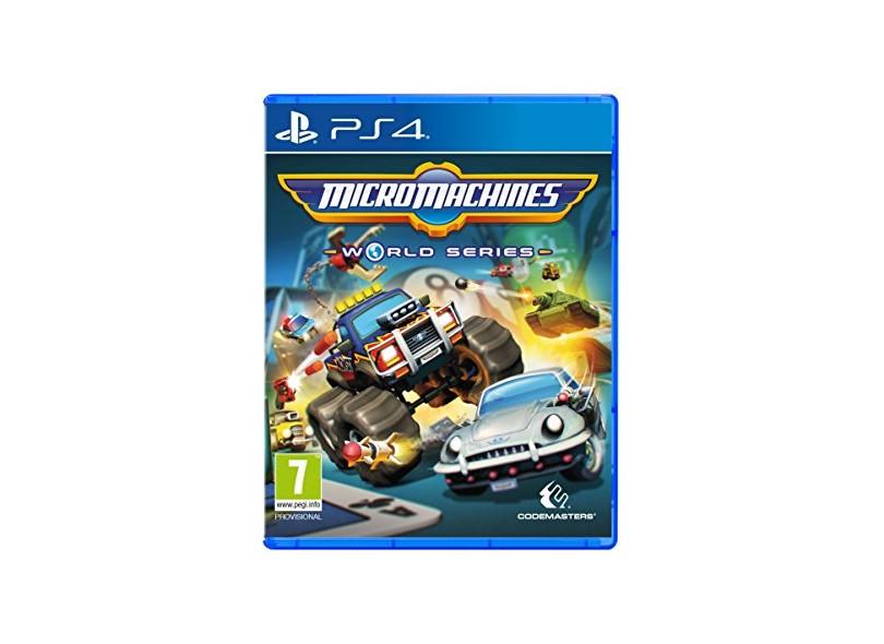 Jogo Micro Machines World Series PS4 Codemasters