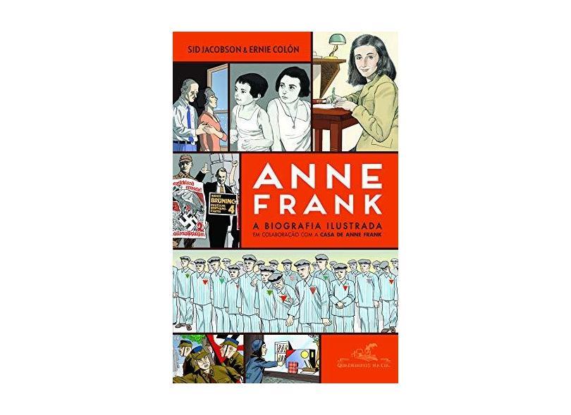 Anne Frank — A Biografia Ilustrada - Jacobson, Sid - 9788535929515